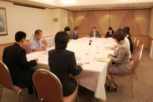 平成25年度 岡山県病児保育協議会総会の様子